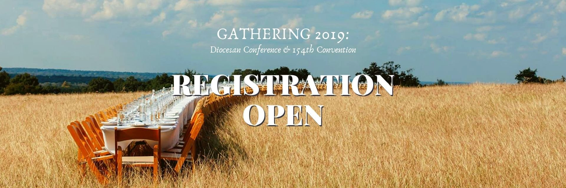 Gathering 2019 no longer strangers
